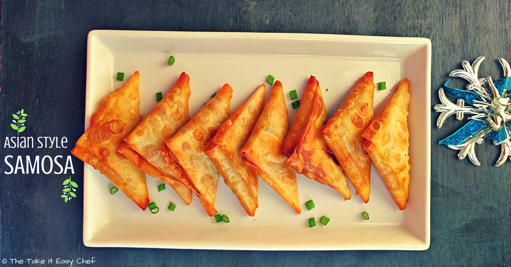 Asian Spring Roll Style Samosa