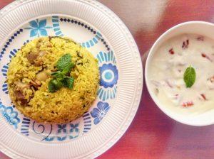 Erachi Choru (Meat Rice Kerala Style)