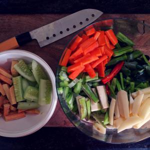Avial/Aviyal (Kerala Mixed Vegetable Curry) - Ingredients