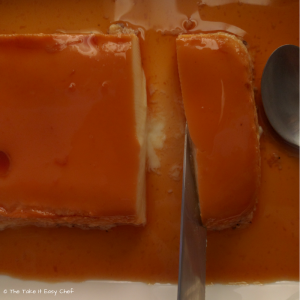 Caramel Custard - The take-it-easy Chef