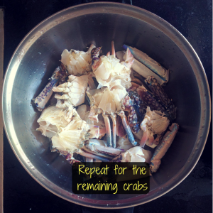 how to clean crab in less than 60 seconds? (easy method)