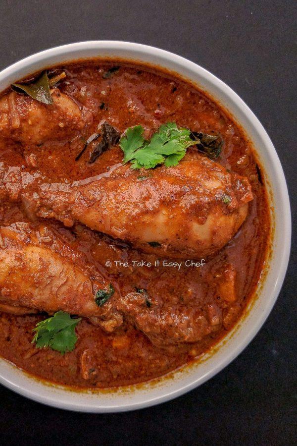 Chettinad Chicken Curry