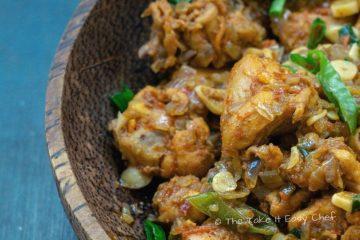 Image of Garlic Chicken in a serving bowl