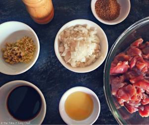 Chicken Bulgogi Ingredients
