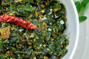Image of Moringa Leaves Stir-Fry