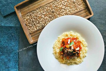 Moroccan Style Lamb Tagine served with Couscous