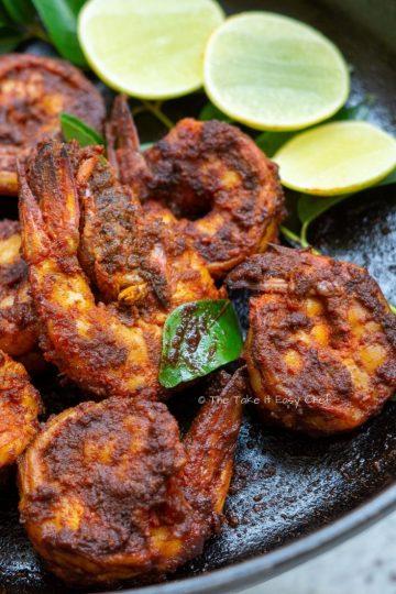 Chilli Fried Prawns Featured Image