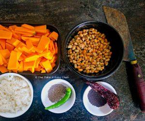 Ingredients for erissery