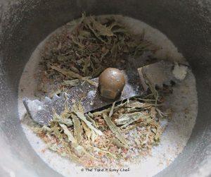 Powdered cardamom is ready