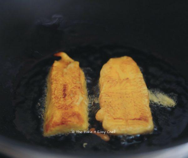 Fry both sides