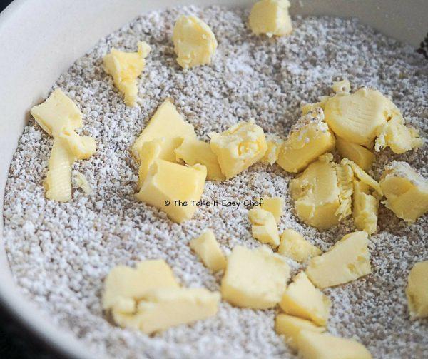 Toss in shredded butter