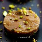 Ragi Manni , Ragi Halwa, or Finger Millet Pudding