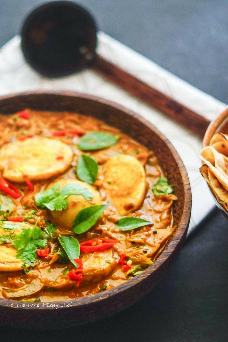 Egg Curry Kerala Style