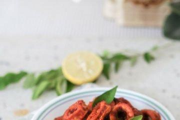 Squid Ghee Roast - Mangalore Style