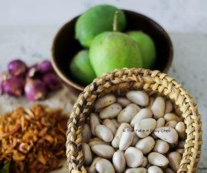 Jackfruit Seeds Curry Step 1