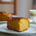Whole Wheat Jaggery Cake