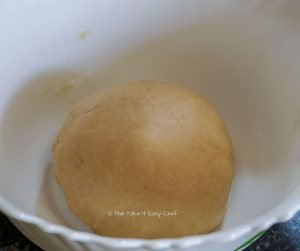 Keema Paratha Step Picture - Dough is ready