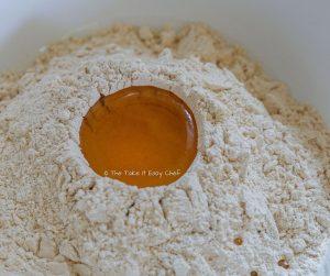 Keema Paratha Step Picture - Preparing the dough