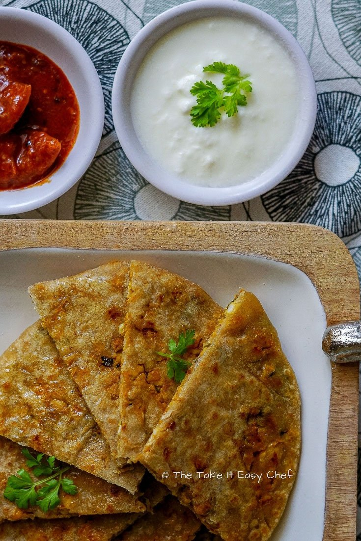 Picture of Keema Paratha