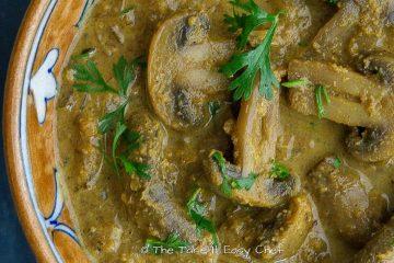 Featured image of Mushroom Masala