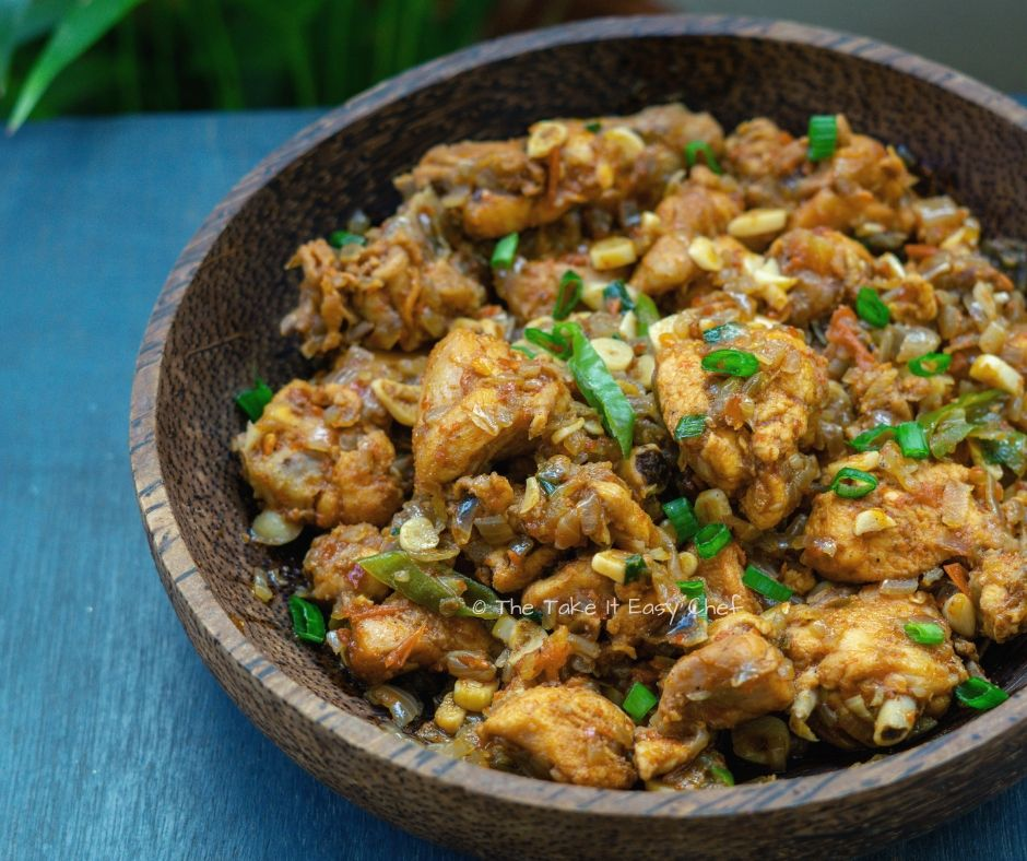 Succulent, flavourful garlic chicken