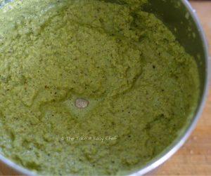 Mutton Chops Karnataka Style Steps - Ground masala paste is ready